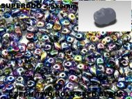 SD-00030/95100 Magic Blueberry SuperDuo Beads * BUY 1 - GET 1 FREE *