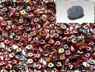 SD-00030/95200 Magic Raspberry SuperDuo Beads * BUY 1 - GET 1 FREE *