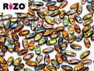 R-00030/95300 Magic Copper Topaz Rizo Beads * BUY 1 - GET 1 FREE *