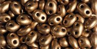 TWN-01740 Bronze Satin Twin Beads Preciosa