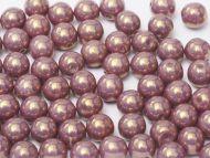 RB8-03000/14496 Chalk Lavender Lumi Round Beads 8 mm