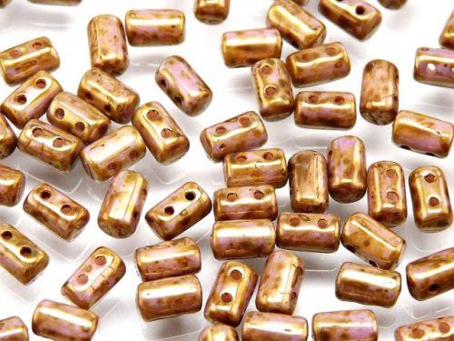RL-03000/15695 Chalk Bronze Lumi Rulla Beads * BUY 1 - GET 1 FREE *