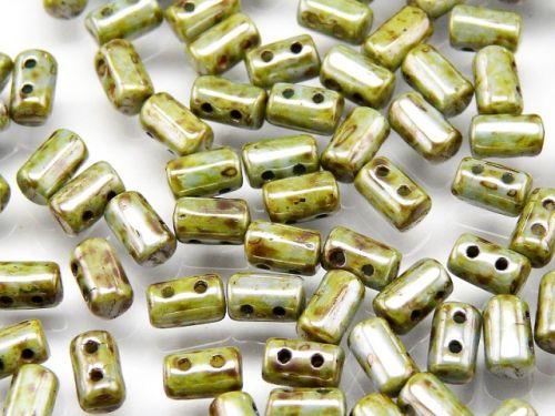 RL-03000/65431 Chalk Green Lumi Rulla Beads * BUY 1 - GET 1 FREE *