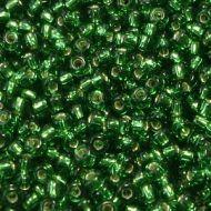 15-0016 Silver-Lined Green (like DB0046) 15/0 Miyuki