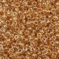 8-0234 Sparkling Metallic Gold-Lined Crystal 8/0 Miyuki