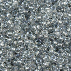 6-0242 Sparkling Pewter-Lined Crystal 6/0 Miyuki