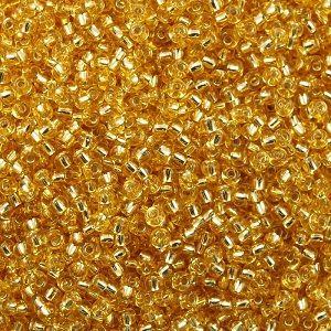 11-0003 Silver-Lined Gold (like DB0042) 11/0 Miyuki