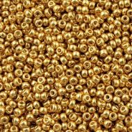 8-4202 Duracoat Galvanized Gold (like DB1832) 8/0 Miyuki