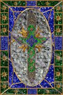 Wall Art 13 - Todj Celtic Cross - High Quality Print