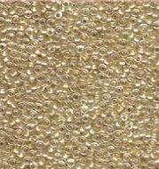 15-1521 Sparkling Light Bronze Lined Crystal (like DB0907) 15/0 Miyuki
