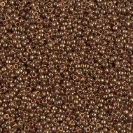 15-1882 Dark Topaz Gold Luster (like DB0115) 15/0 Miyuki