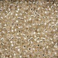15-0001 Silver-Lined Crystal (like DB0041) 15/0 Miyuki