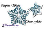 Tutorial Snow Flake 3D Peyote Star + Basic Tutorial Little 3D Peyote Star (download Link per e-mail)