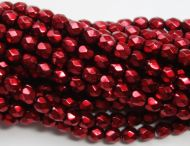 FP03 Metallic Garnet 3 mm Fire Polished