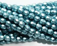 FP04 Metallic Turquoise 4 mm Fire Polished