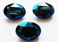 4120 Crystal Metallic Blue Oval 18x13 mm Swarovski