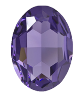 4127 Tanzanite Oval 30x22 mm Swarovski