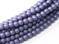 Fiesta Light Plum 2 mm Glass Round Pearls
