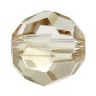 5000 Crystal Golden Shadow Round 2 mm Swarovski - 50 x