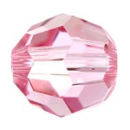 5000 Light Rose Round 2 mm Swarovski - 50 x
