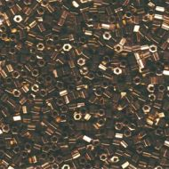 8HC-0457 Metallic Dark Bronze (like DB0022) Hexagon 8/0 Miyuki * BUY 1 - GET 1 FREE *