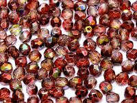 FP04 Magic Raspberry 4 mm Fire Polished ~ 100 x
