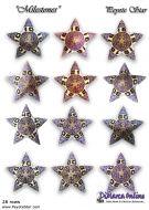 Tutorial Milestones All Stars 12 x - 3D Peyote Star + Basic Tutorial Little 3D Peyote Star (download link per e-mail)