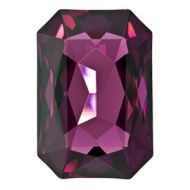 4627 Amethyst Rectangle 27x18.5 mm Swarovski