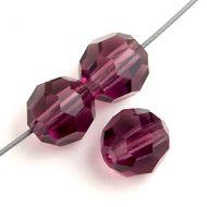 PR04 Amethyst 4 mm Round Preciosa