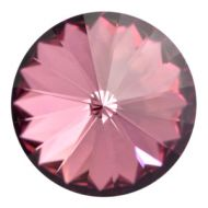 1122 Crystal Antique Pink Rivoli 14 mm Swarovski