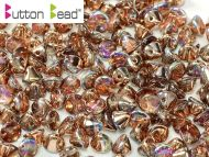 BB-00030/98533 Crystal Rainbow Copper Button Beads * BUY 1 - GET 1 FREE *