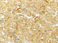 BB-00030/98534 Crystal Rainbow Lemon Button Beads * BUY 1 - GET 1 FREE *