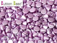 BB-25012 Pastel Pearl Lila Button Beads * BUY 1 - GET 1 FREE *