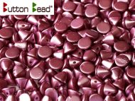 BB-25031 Pastel Pearl Burgundy Button Beads * BUY 1 - GET 1 FREE *