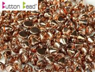 BB-27100 Capri Gold Full Button Beads * BUY 1 - GET 1 FREE *