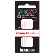 Beading Needle 12 ColorEYES™ - 6 x