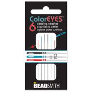 Beading Needles Assorted (10/11/12) ColorEYES™ - 6 x