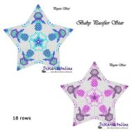 Tutorial Baby Pacifier (Pink & Blue) 3D Peyote Star + Basic Tutorial Little 3D Peyote Star (download link per e-mail)