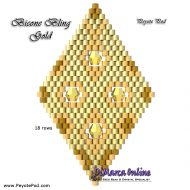 Tutorial Bicone Bling Gold 3D Peyote Pod + Basic Tutorial Little 3D Peyote Pod (download link per e-mail)