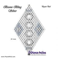Tutorial Bicone Bling Silver 3D Peyote Pod + Basic Tutorial Little 3D Peyote Pod (download link per e-mail)