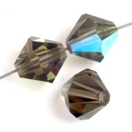 PB10 Black Diamond AB 10 mm Bicone Preciosa