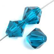 Blue Zircon 4 mm Bicone Preciosa