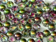 C2-00030/95000 Magic Orchid Iris 2-Hole Cabochons