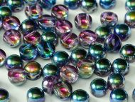 C2-00030/95100 Magic Blueberry 2-Hole Cabochons