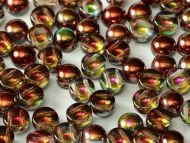 C2-00030/95200 Magic Raspberry 2-Hole Cabochons