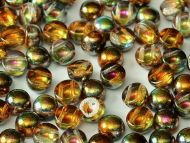 C2-00030/95300 Magic Copper Topaz 2-Hole Cabochons