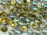 C2-00030/98536 Crystal Rainbow Gold 2-Hole Cabochons