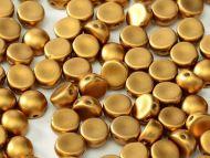 C2-29415 Metallic Matt Bronze 2-Hole Cabochons