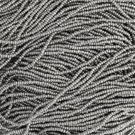 CHAR13 Metallic Grey Charlottes 13/0 Preciosa - 12.5 grams