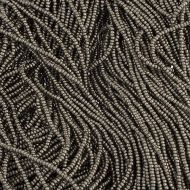 CHAR13 Metallic Steel Charlottes 13/0 Preciosa - 12.5 grams